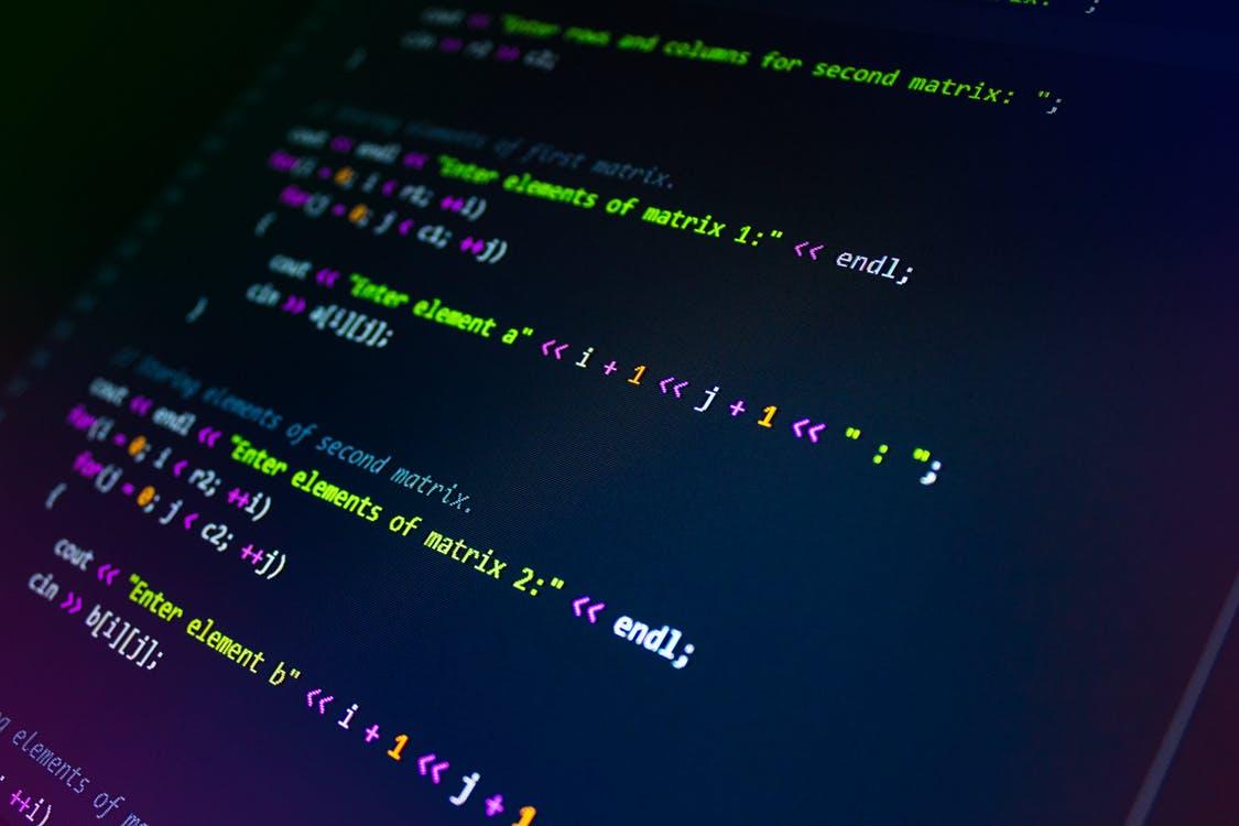 Programming Codes Screengrab